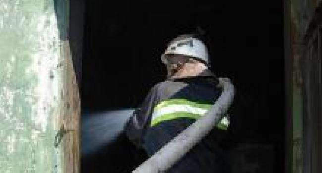 Бездомные «устроили» пожар в подвале многоэтажки
