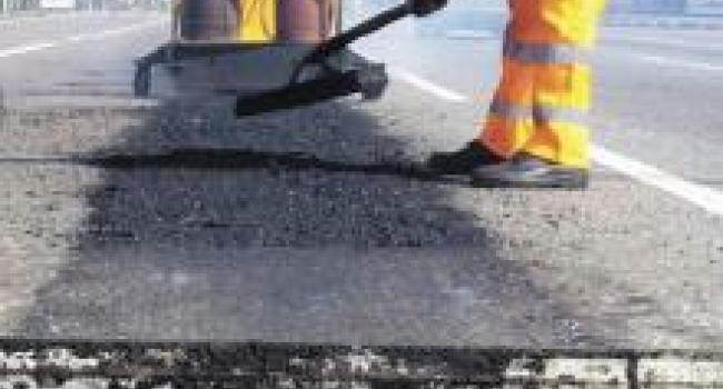В 2015 году в Кременчуге отремонтировано 46 тыс. кв. м дорог