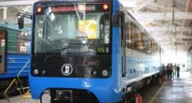 Крюковский вагонзавод обновил 10 вагонов киевского метро