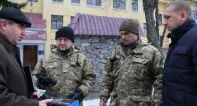 Кременчугский реактивный артиллерийский полк получил гуманитарный груз