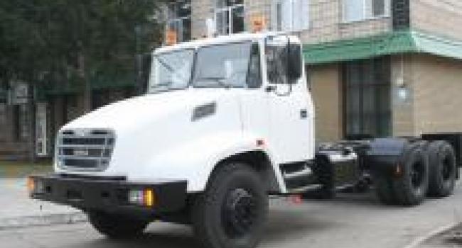 КрАЗы отгрузили в Казахстан