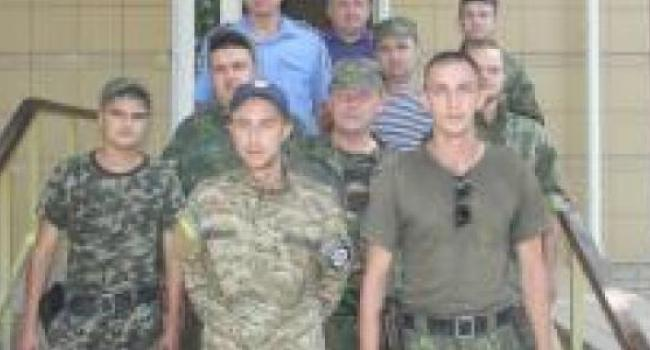 В Кременчуг сегодня вернулись правоохранители из зоны АТО