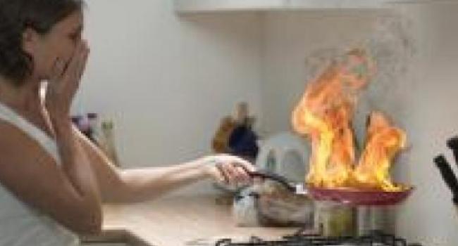 В Кременчуге зарегистрировано 20 возгораний пищи на плите
