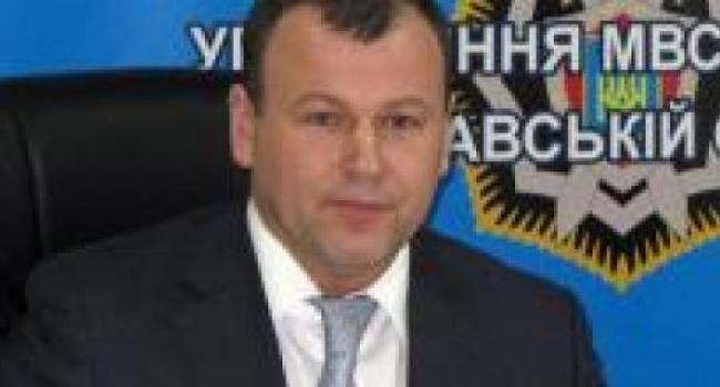 Главный милиционер Полтавщины отреагировал на заявление губернатора
