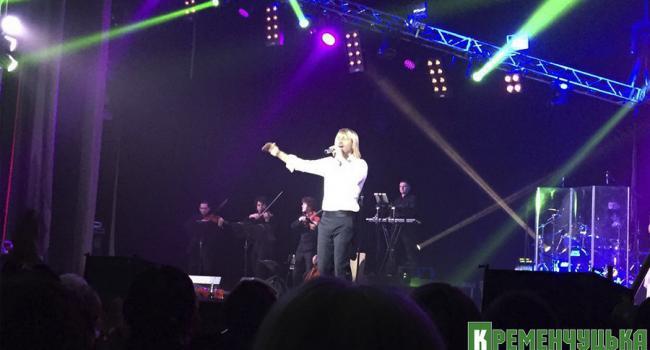 Олег Винник спел в Кременчуге