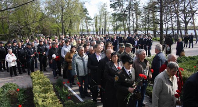 Кременчужане молились в память жертв Чернобыля