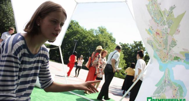 Зеленые зоны отдыха Кременчуга распечатают на принтере