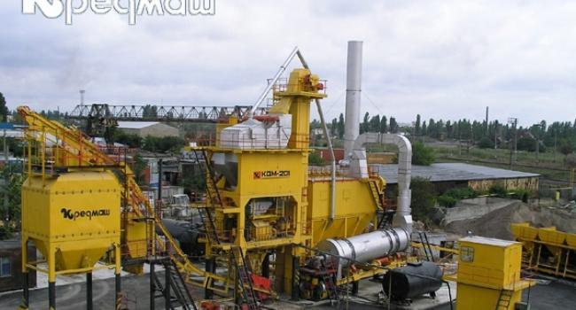 В Кременчуге увеличили производство оборудования для ремонта дорог
