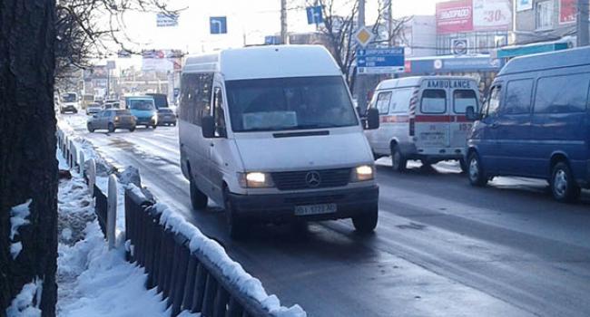 Мэр Малецкий: проезд в маршрутках повысится, но не более чем до 5 гривень
