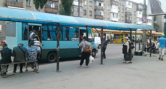 Дожились: остановка «Рынок» в Кременчуге осталась с одной лавочкой