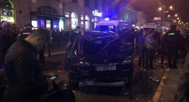 Смертельна ДТП в центрі Харкова: серед постраждалих 25-річна кременчужанка