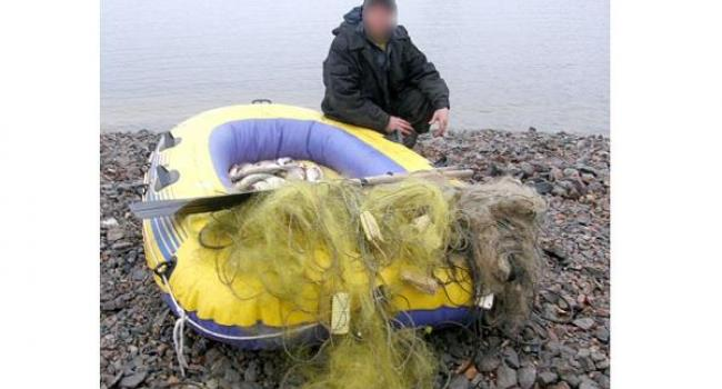 Під Кременчуком бракон`єр наніс збитків на понад 10 тисяч гривень