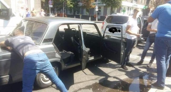У центрі Кременчука СБУ затримала поліцейських (доповнюється)
