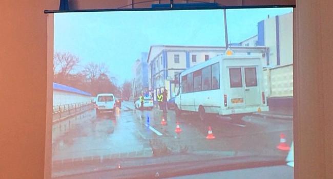 В Кременчуге водитель маршрута № 3а за рейс совершил два ДТП: подозревается, что за руль сел пьяным (дополнено)