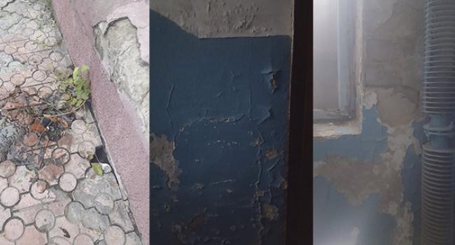 «Ще не критично?» - руйнується ще один будинок в самому центрі Кременчука