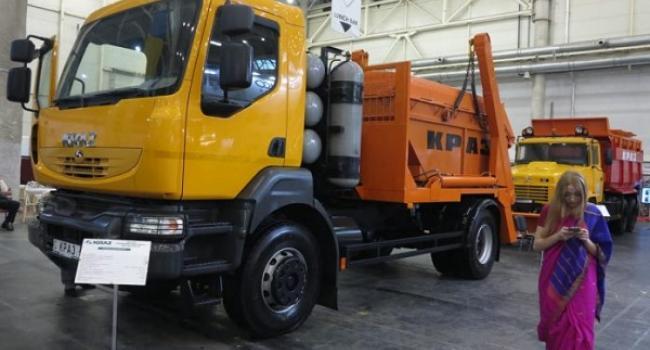 Кременчуцький автозавод продемонстрував КрАЗ-5401Н2 з газовим двигуном Daimler AG