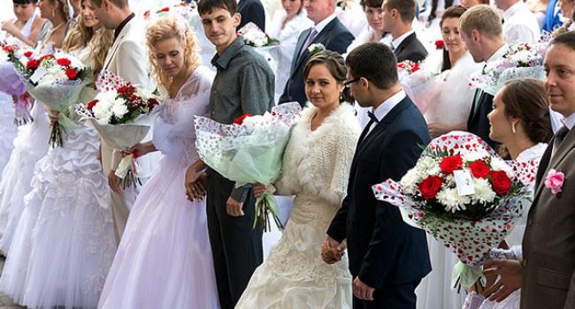 У Кременчуці на День Усіх Закоханих запланований «весільний бум»