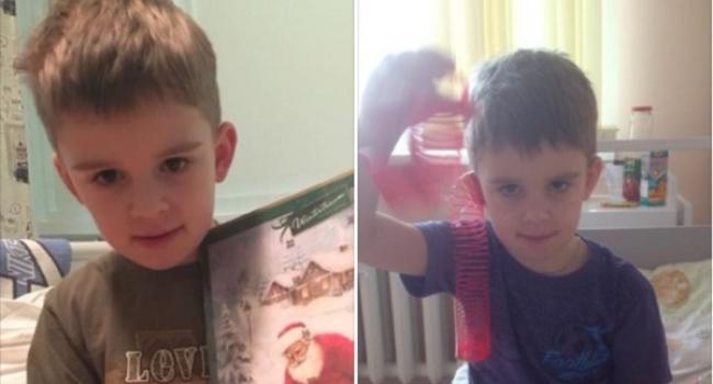 Родина Шабашових Андрій і Аня просять про допомогу для свого сина Віктора