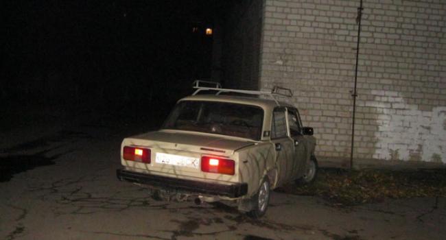У кременчужанина викрали ВАЗ, який потім знайшовся розбитим біля будівлі електрощитової