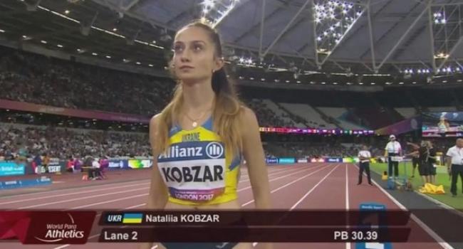 Наталя Кобзар на 200-метрівці встановила рекорд України.