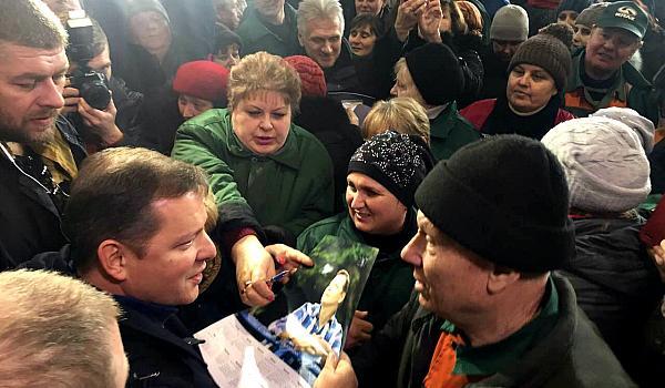 Ляшко пообещал «выбить» для КрАЗа госзаказ на тысячу машин