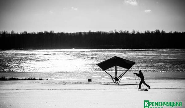 ФотоКременчуг: черно-белый мороз