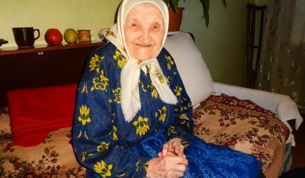 «Я отримала перший паспорт у 53 роки»,-100-річна кременчужанка Ганна Малецька