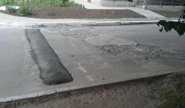 Дорога на Манагарова: зекономлений на ремонті асфальт пішов на лежачого поліцейського