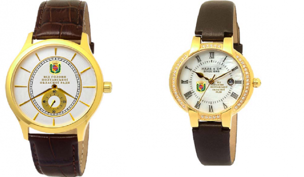 Трохи шиканемо: Полтавська облрада закупить швейцарські годинники з «камінцями» Swarowsky