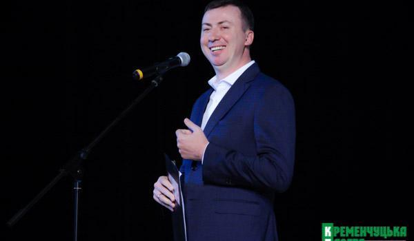 В Кременчуге Жидков сыпал шутками о холоде, женщинах и Крюковском мосте