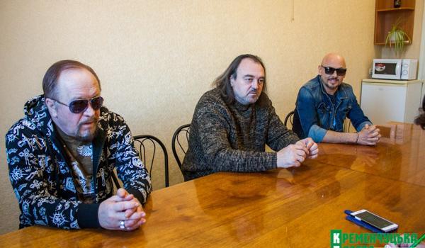 Песняры: «Мило у вас в Кременчуге, душевно»