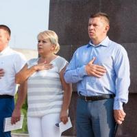 В лицее №4 урок Мира провели депутаты Дмитрий Кравченко и Виктория Гончаренко