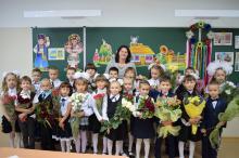 На конкурс пришли фотографии от 1-А кременчугского детсада-школы №15.