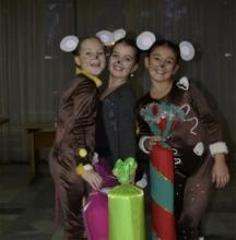 Три мышки претендуют на победу в конкурсе от Кременчугской газеты