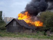 В пятницу пожарные тушили два пожара