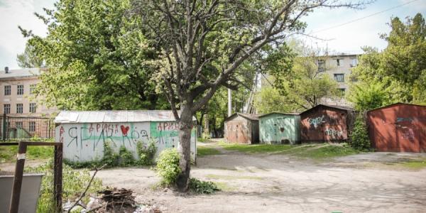 Возле школы №11 демонтируют гаражи, чтобы построить многоэтажку