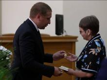 Кременчужанка получила награду от Президента Украины