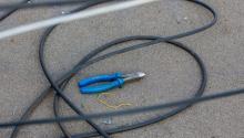 Подозрительный пакет оказался мотком-интернет кабеля
