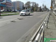 Дорожные работники переместятся на ул. Пролетарскую