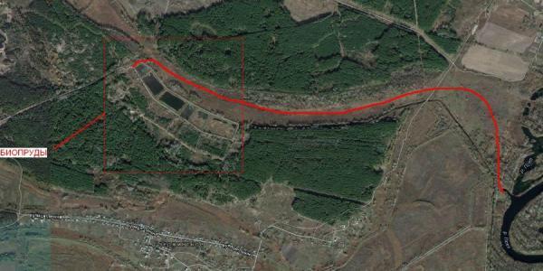В Кременчуге прорвало дамбу на канализационных сооружениях