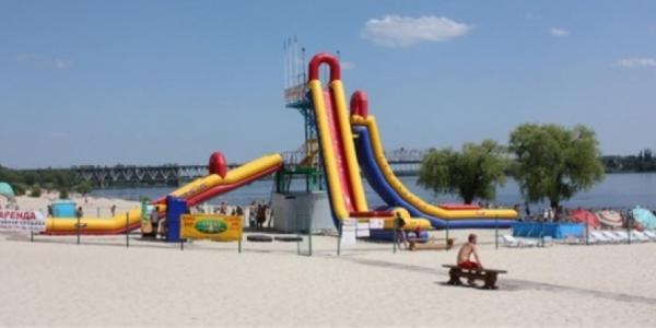 На Кременчугском пляже травмировался ребенок