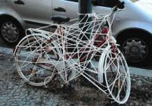 В Кременчуге снова угнали велосипеды