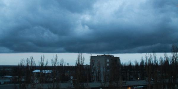 Кременчугу дали срочное штормовое предупреждение