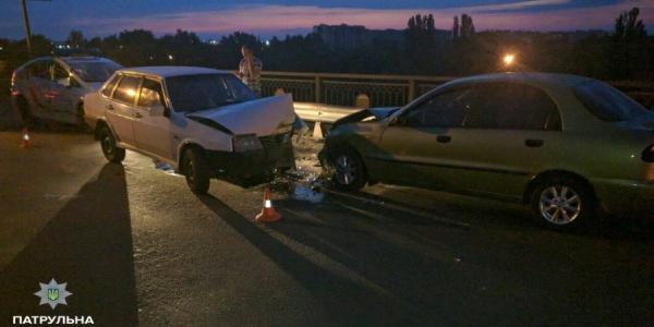 В Кременчуге пьяный водитель стал причиной ДТП