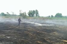 На Полтавщине третий день горят торфяники
