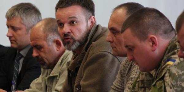 Воины АТО требуют от Малецкого создания места отдыха для транзитных участников боевых