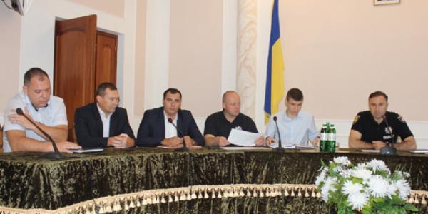 Начальник полиции Одесской области представил личному составу своего зама - Вадима Могилу