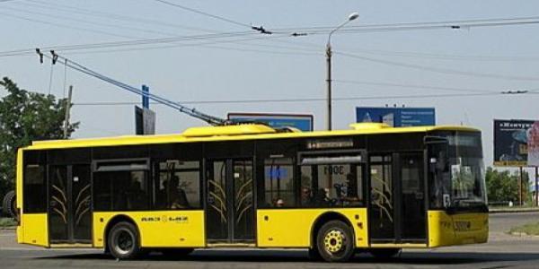 В Кременчуге в час пик остановились троллейбусы