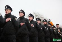 Патрульная полиция завтра примет присягу в Полтаве
