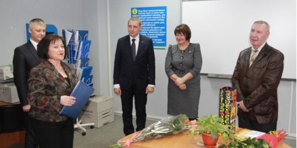 Директора Кременчугского Центра занятости проводили на пенсию